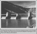 The Grand River Diversion Dam