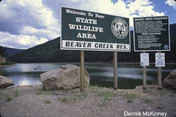 Beaver Creek Reservoir