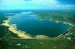 John Martin Reservoir back in the day nearly full