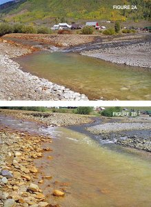 Confluence of Cement Creek and the Animas River from the Coyote Gulch archives (11/21/2010)