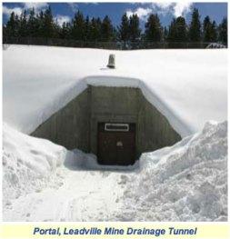 Leadville Mine Drainage Tunnel portal