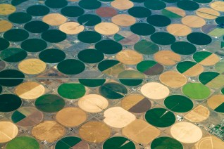 Crop circles -- irrigated agriculture