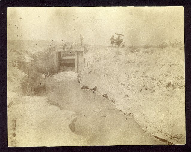 Bessemer Ditch circa 1890 via WaterArchives.org