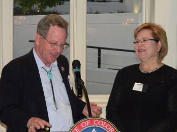 Greg Hobbs, Diane Hoppe