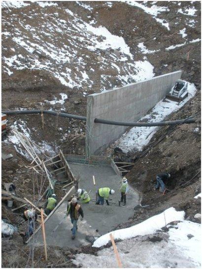 Schwartwalder pipeline Cotter Ralston Creek
