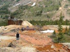 Pennsylvania Mine Upper Peru Creek Basin