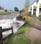 Channel erosion Colorado Springs July 2012 via The Pueblo Chieftain