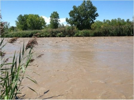 Fountain Creek during monsoon July 2012 via The Pueblo Chieftain