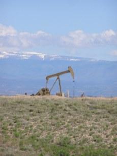 Pump jack niobrara shale Front Range