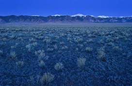 The country's second largest potato producing region, is in its 18th year of drought in 2020. The San Luis Valley in Colorado is known for its agriculture yet only has 6-7 inches of rainfall per year. San Luis Valley via National Geographic