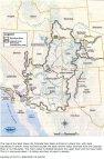 Colorado River Basin including out of basin demands -- Graphic/USBR