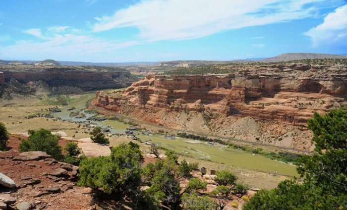 McInnis Canyon National Recreation Area via the BLM