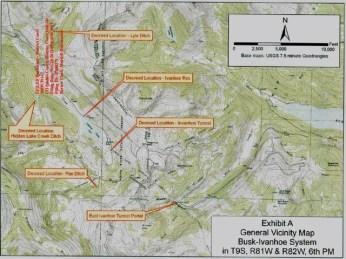 Busk-Ivanhoe system diversions