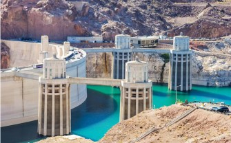Drought affected Lake Mead via the Mountain Town News