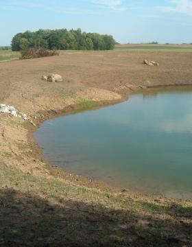 Augmentation pond photo via Irrigation Doctor, Inc.