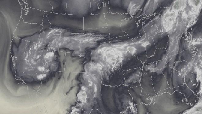 Plume of subtropical moisture streaming into Colorado September 2013 via Weather5280