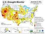 US Drought Monitor November 12, 2013