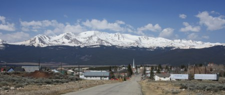 Mount Massive and Leadville from 6th St via Wikipedia Commons