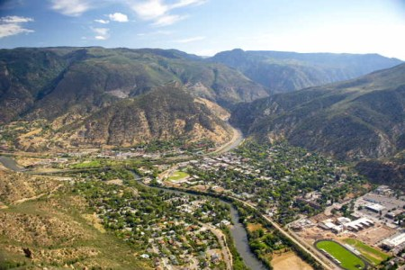 Glenwood Springs via Wikipedia