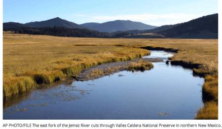 East Fork Jemez River Valles Caldera New Mexico via the Associated Press