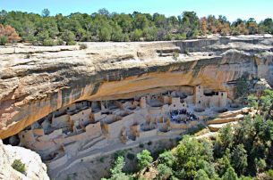 Cliff Palace Mesa Verde National Park via Wikipedia