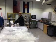 Ice cores in process March 13, 2015 National Ice Core Laboratory