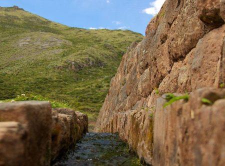 Old canal of Wari culture photo via Ancient-Origins.net