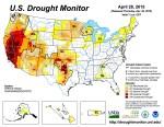 US Drought Monitor April 28, 2015