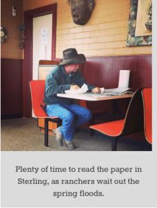 readingthepaperinsterling062015bobberwyn