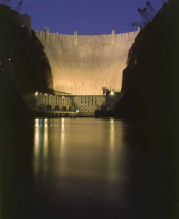 Hoover Dam photo via the US Bureau of Reclamation