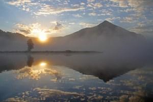 Sunrise over Peanut Lake via Bob Berwyn