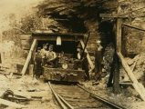 West Virginia coal mine circa. 1908