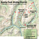 "The ""Bonita Peak Mining District"" superfund site. Map via the Environmental Protection Agency"