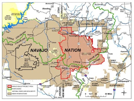 Navajo Nation. Image via Cronkite News.