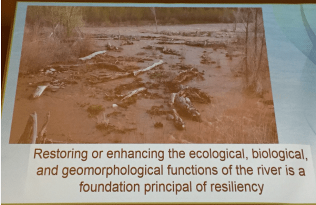 Stream resiliency. Slide via Chris Sturm, South Platte Forum, October 26, 2016.