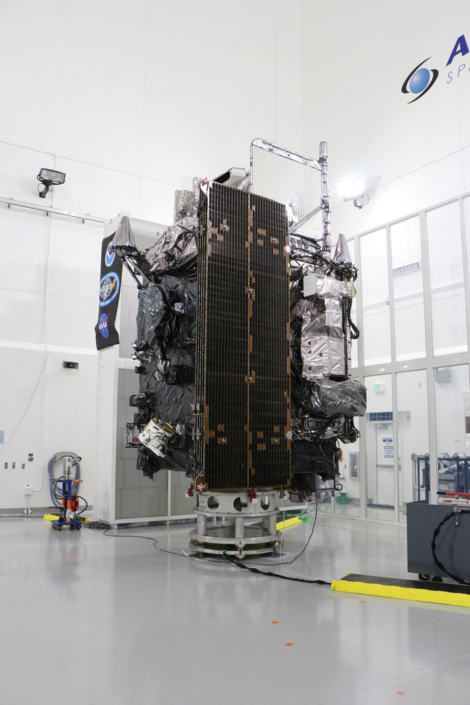 GOES-R Prepares For Launch. Photo credit NASA.