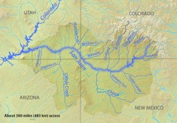 San Juan River Basin. Graphic credit Wikipedia.