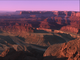 Prior to 1921 this section of the Colorado River at Dead Horse Point near Moab, Utah was known as the Grand River. Mike Nielsen - Dead Horse Point State Park