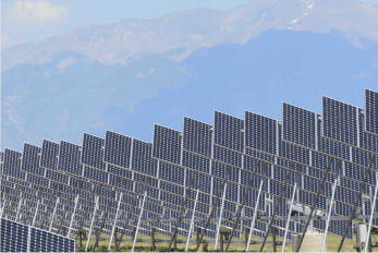 Xcel Energy's Greater Sandhill Solar Farm north of Alamosa, Colo. Colorado's San Luis Valley has some of the nation's best solar resource. Photo/Allen Best
