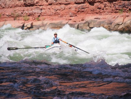 Sean, recreating, on the Colorado River. Photo: via Aspen Journalism