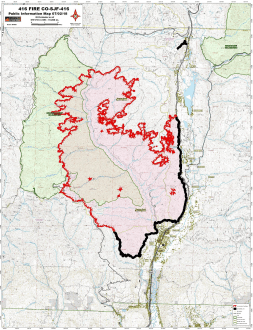 416 Fire July 2, 2018. Graphic credit Incweb