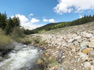The Akron Mine cleanup near the headwaters of Tomichi Creek after restoration. Photo credit: Trout Unlimited