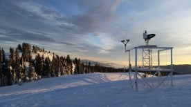 Scenes from the Seeded and Natural Orographic Wintertime Clouds: The Idaho Experiment (SNOWIE) project, which was undertaken in Idaho's Payette Basin in winter 2017. Credit: Joshua Aikins via Aspen Journalism
