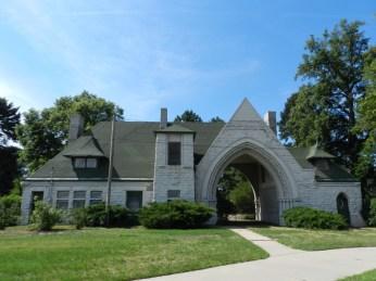 Fairmount Cemetery Gate House via Cemetery.com.