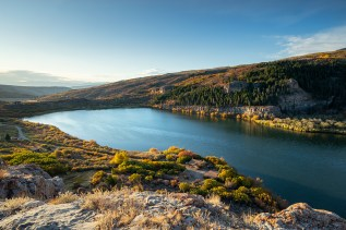 Sweetwater Lake, Garfield County, Colorado. Photo credit: Todd Winslow Pierce with permission
