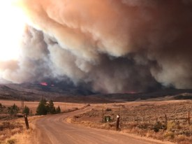 East Troublesome Fire. Photo credit: Brad White via The Mountain Town News
