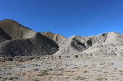 These are hills of exposed Mancos shale in Delta County. Selenium is a natural element found in the soil type that is common in the Uncompahgre and Grand valleys. Photo credit: Natalie Keltner-McNeil/Aspen Journalism