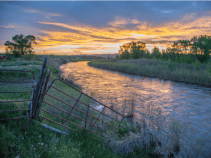 "The Yampa River flows through the Carpenter Ranch. Photo courtesy of John Fielder from his new book, ""Colorado's Yampa River: Free Flowing & Wild from the Flat Tops to the Green."""