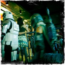 Stormtrooper & Boba Fett Leaving