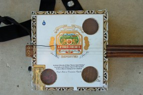 Cigar Box Guitar Body
